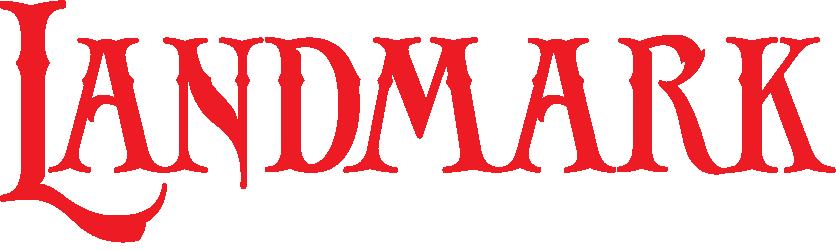 Landmark Logo White